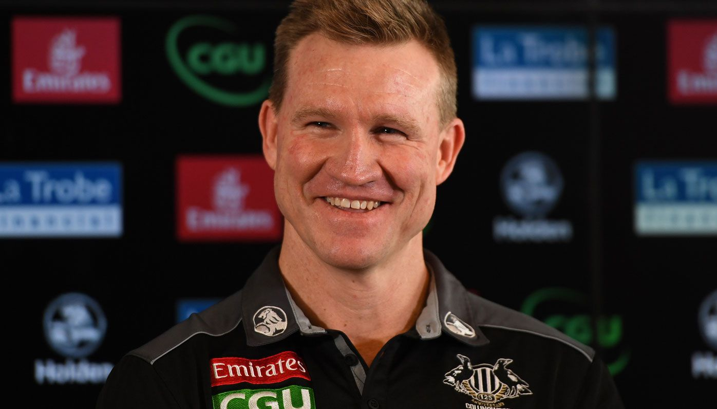 Collingwood coach Nathan Buckley says he never lost playing group