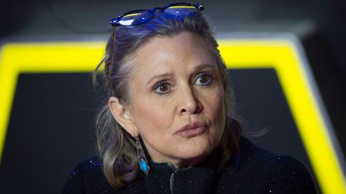 Carrie Fisher hits back at haters' claims she's aged badly
