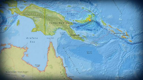 Tsunami warning cancelled after magnitude 7.4 earthquake strikes off Papua New Guinea