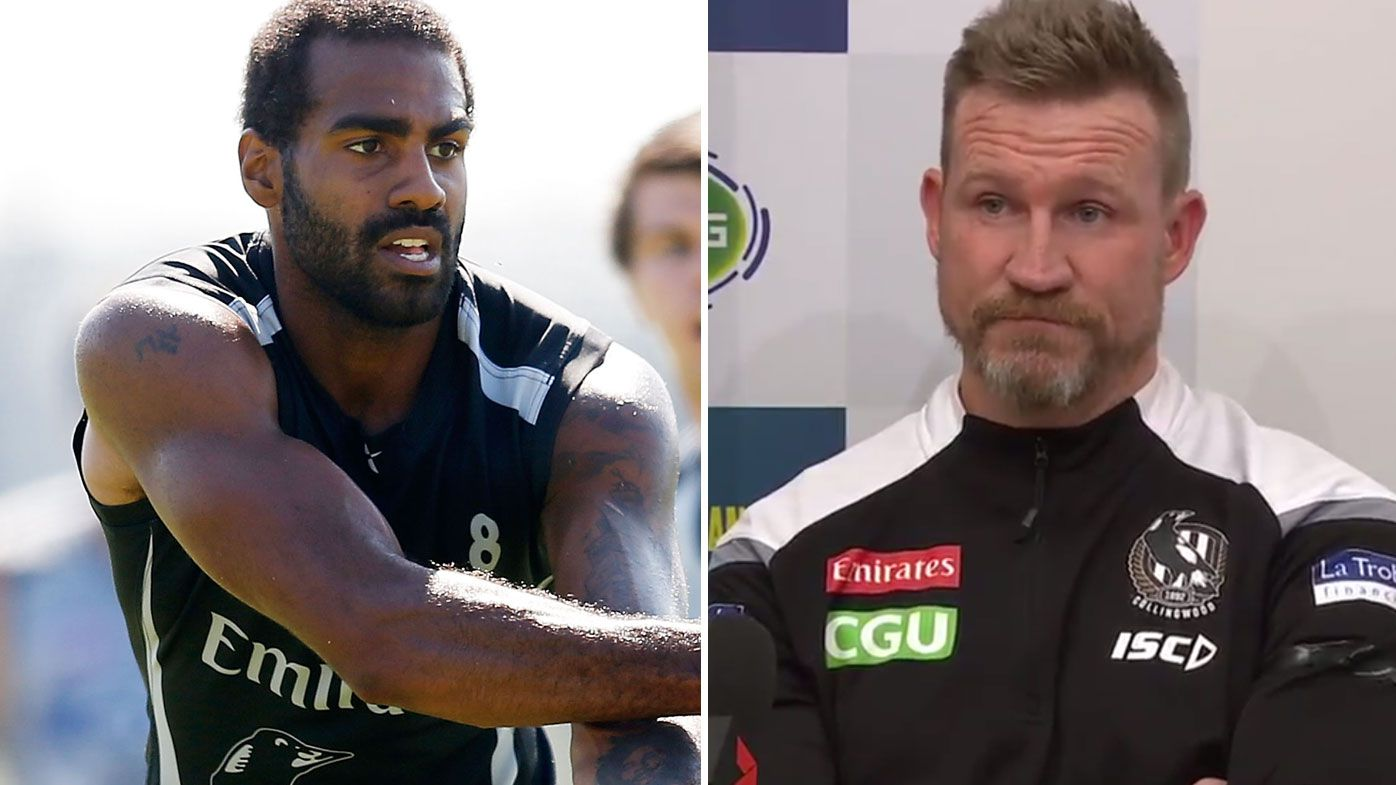 'Uncomfortable' Nathan Buckley extends olive branch to Magpies premiership star Heritier Lumumba