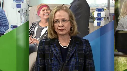 Queensland Health chief health officer Dr Jeanette Young. Picture: 9NEWS