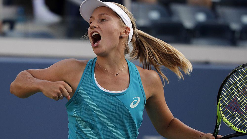 dARIA Gavrilova dashes into US Open second round