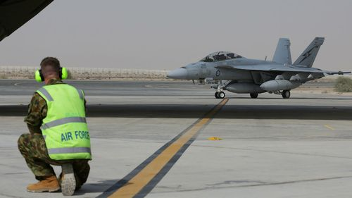ADF bombs push back ISIL in Iraq