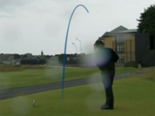 Mickelson hooks drive at British Open onto hotel balcony