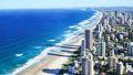 Surfer's Paradise Beach, Gold Coast, Queensland.