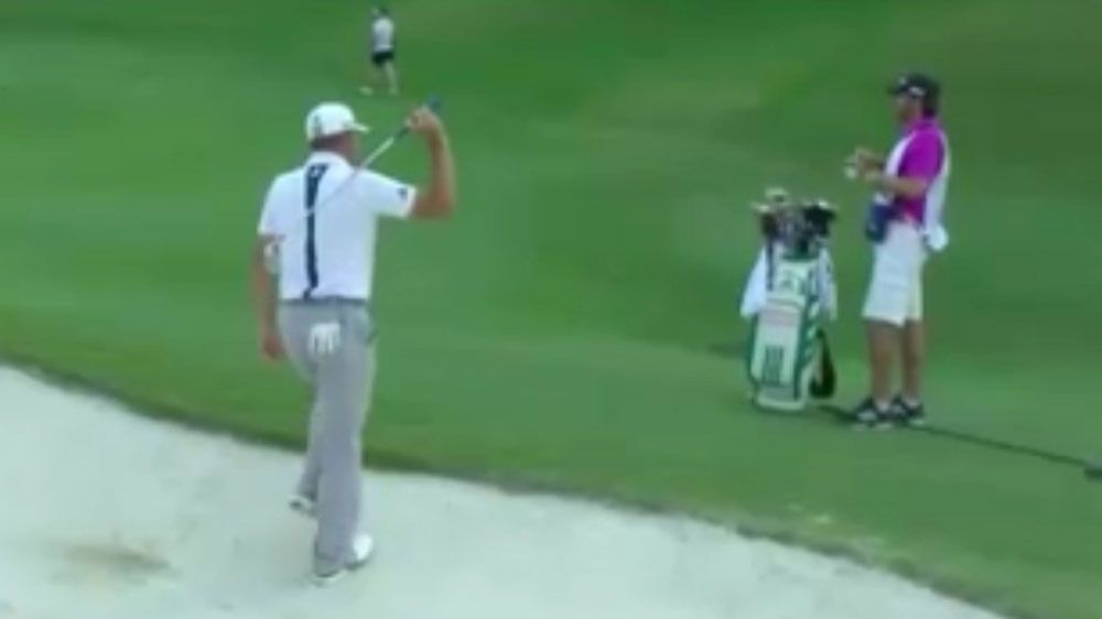 Sergio Garcia pulls off trick at  Byron Nelson PGA Tournament