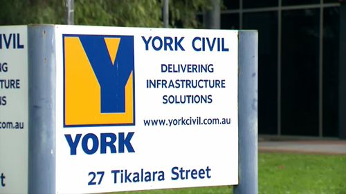 York Civil has entered voluntary administration. Picture: 9NEWS