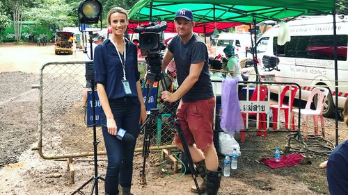 9NEWS reporter Alice Monfries was on the ground in Thailand, and said the thing that has stuck with her most in the past six months is the courage and strength those tiny boys possessed.