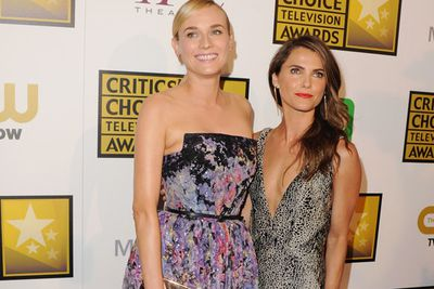 Fash-icons Diane Kruger and Keri Russell take on the red carpet like total Hollywood darlings.