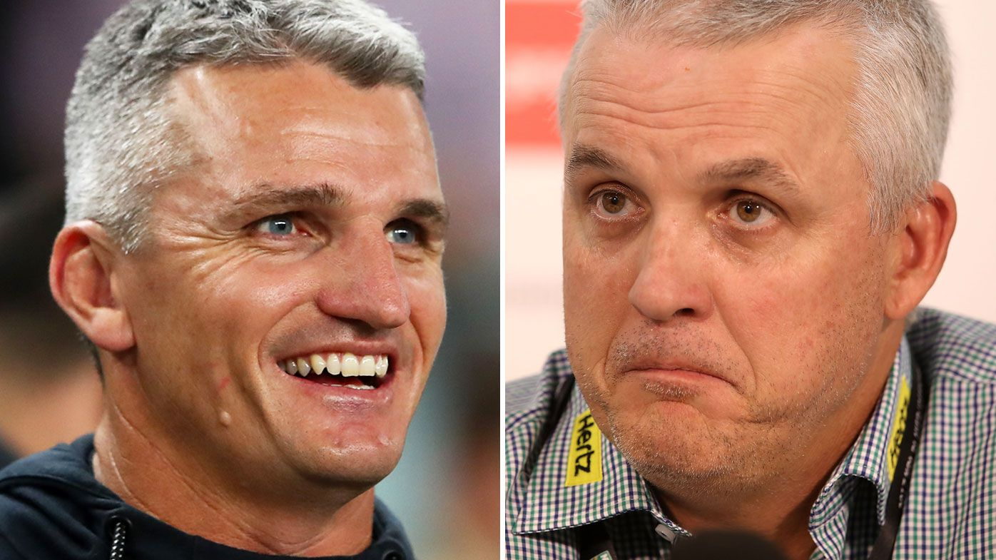 Ivan Cleary and Anthony Griffin