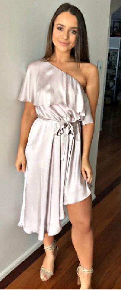 """<p><a href=""""https://www.mydressaffair.com.au/other-info-dresses/plump-size/zimmermann-one-shoulder-dress-lavender"""">ZIMMERMANN One Shoulder Dress</a></p> <p>Rental $49</p> <p>Retail $550</p>"""