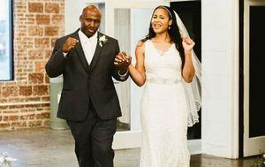 US basketball star marries the man she helped free from prison