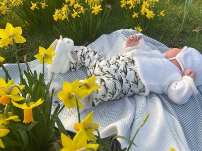 Eugenie celebrates her first Mother's Day with her son, March