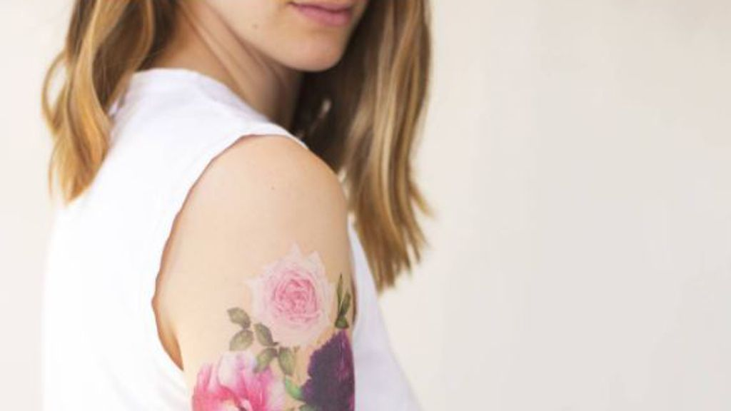 Temporary tattoos that smell