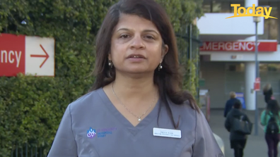 Dr Priya Nair said the ICU ward is seeing an uptick in young and healthy people, floored by COVID-19.