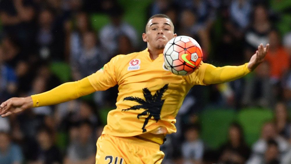 Central Coast A-League winger Jake Adelson. (AAP)