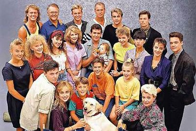 His name was <B>Bouncer</B> (which was also the dog's name in real life)! If you got this wrong, your knowledge of Aussie soaps is sorely lacking.
