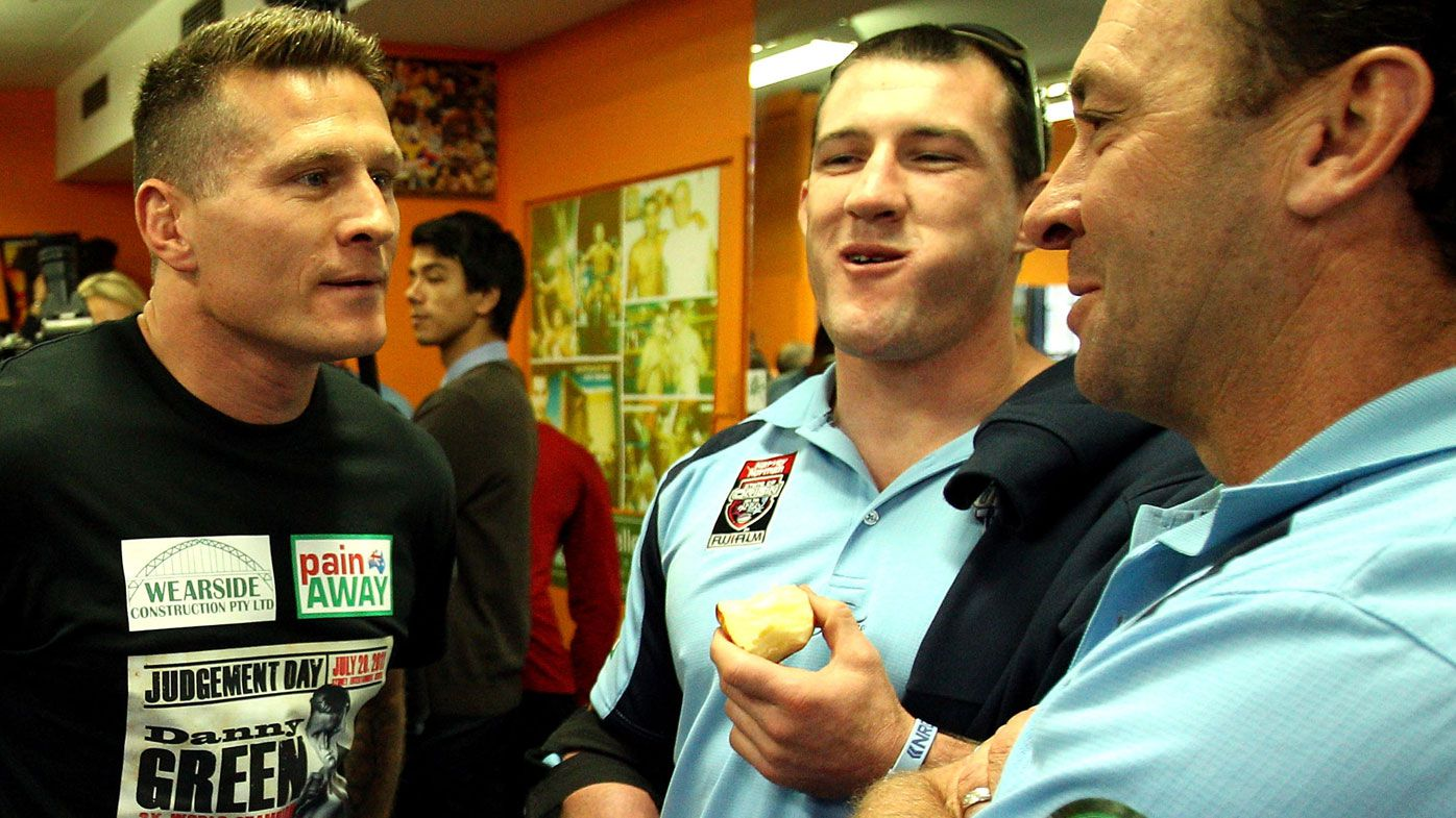 Paul Gallen and Danny Green's NSW Origin bond cools with fight favouritism claim