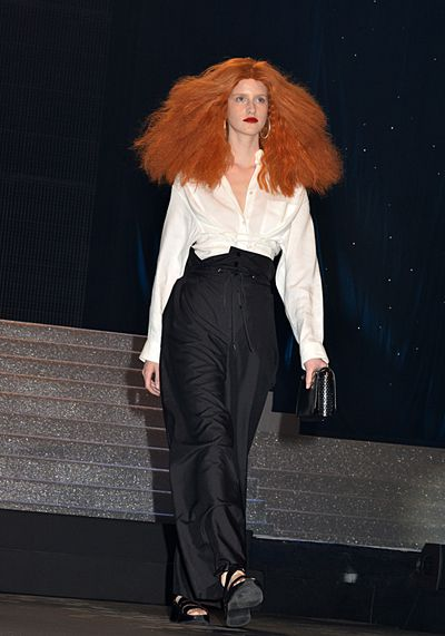 <p><strong>2. Grace Coddington</strong></p> <p>Grab the wildest red wig that you can find, add a white shirt with black pants and you're ready to roll as the world's most famous stylist. Occasionally mumble about creativity and your pet cats and you will deliver the perfect Grace, just like Jean Paul Gaultier did on the runway with his spring/summer '15 collection.</p>