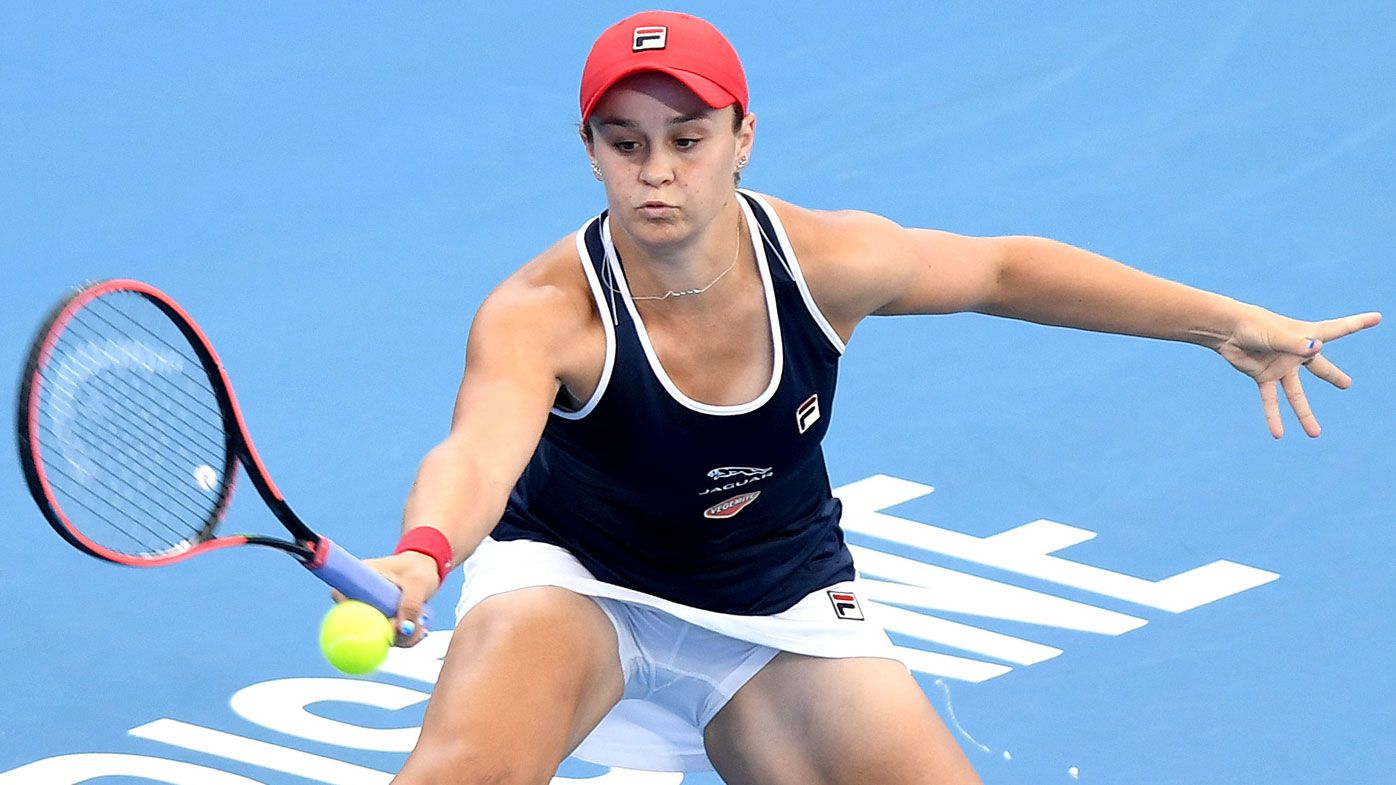 Ash Barty upset in season opener at Brisbane International