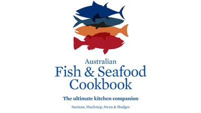 "<a href=""https://www.murdochbooks.com.au/browse/books/cooking-food-drink/ingredients/Australian-Fish-and-Seafood-Cookbook-John-Susman-Anthony-Huckstep-Sarah-Swan-and-Stephen-Hodges-9781743362952"" target=""_top"">Australian Fish and Seafood Cookbook - The ultimate kitchen companion</a><br> By John Susman, Anthony Huckstep, Sarah Swan and Stephen Hodges<br> Murdoch Books, $79.99"