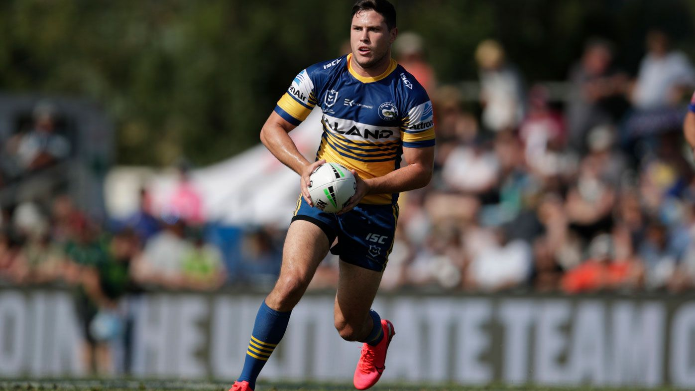Mitch Moses leads the Eels