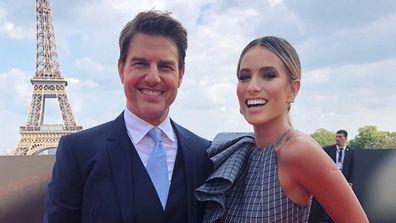 Tom Cruise and Renee Bargh