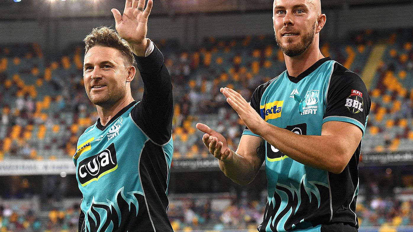 Brendon McCullum takes back seat in Brisbane Heat farewell as openers put on record-breaking partnership