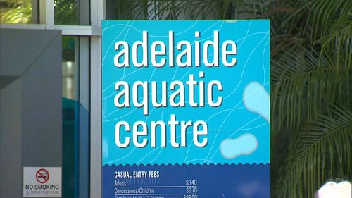 A man has been charged with sexual assault over an alleged incident at a public pool in Adelaide.
