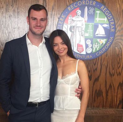 Cooper Hefner marries Scarlett Byrne