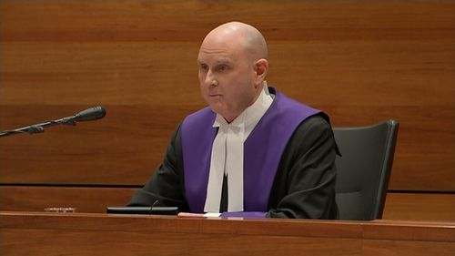 Chief Judge Peter Kidd's sentencing remarks were broadcast live.