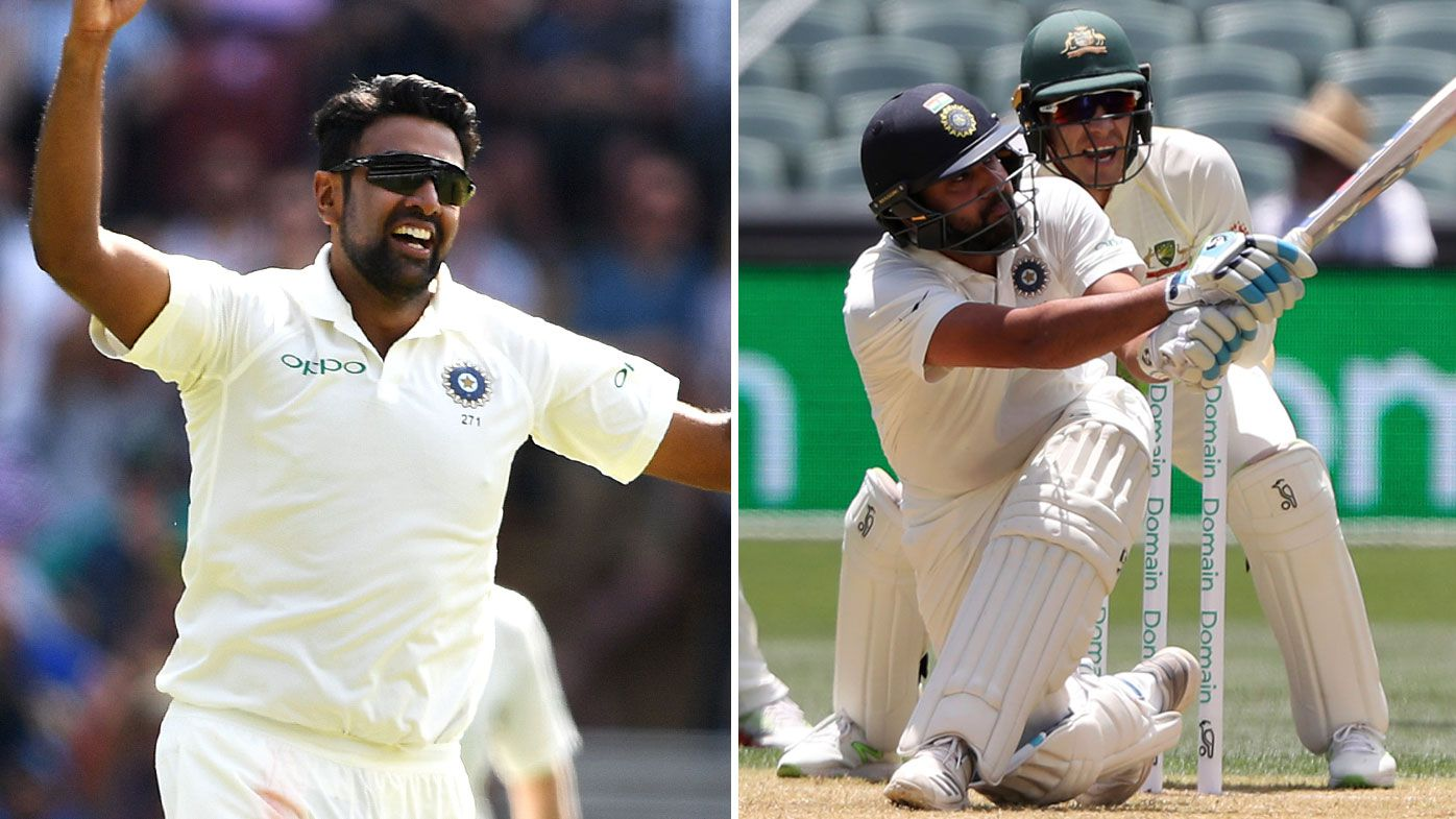 India lose Ravichandran Ashwin and Rohit Sharma for second Test in Perth