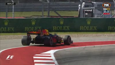 Australia's Red Bull driver Daniel Ricciardo out of F1 US Grand Prix with engine failure