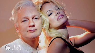 An unlikely love story: Pamela Anderson and Julian Assange