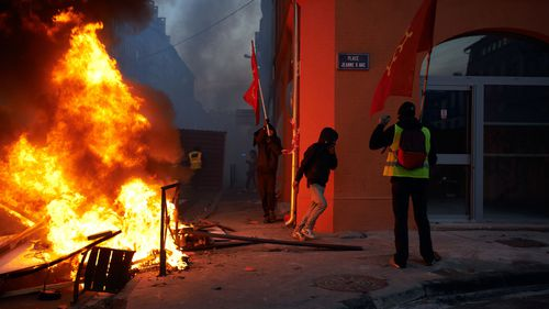 The protests began Nov. 17 with motorists upset over the fuel tax increase, but have grown to encompass a range of complaints — the stagnant economy, social injustice and France' tax system.