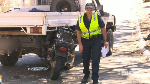 Police have urged motorbike riders to take extra care on the roads, as they are more vulnerable. (9NEWS)