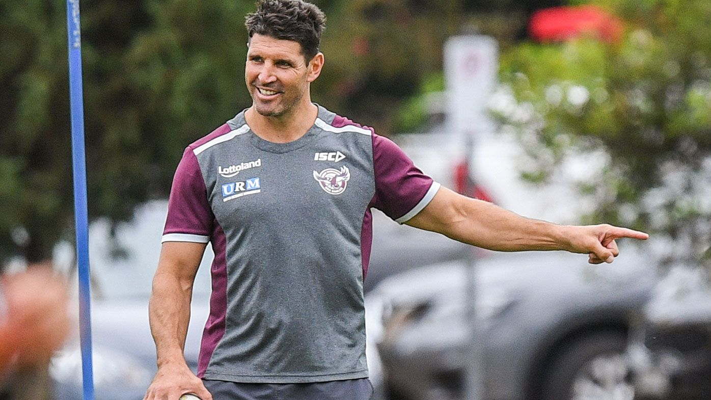 Sea Eagles coach Trent Barrett will stay at Manly: CEO Lyle Gorman