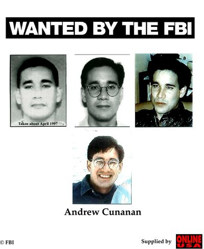 Andrew Cunanan killed at least five people, including Versace and Chicago businessman Lee Miglin.