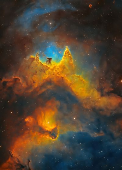 The Soul of Space (Close-up of the Soul Nebula)by Kush Chandaria
