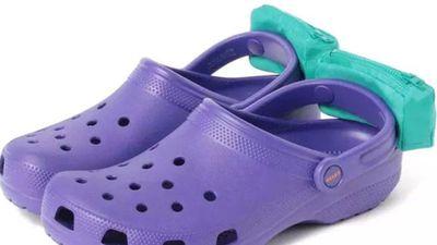 Crocs pouch
