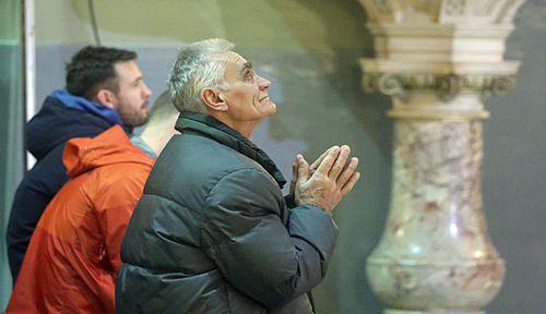 A Mass for Slobodan Praljk in The Basilica of the Sacred Heart of Jesus church in Zagreb, Croatia. (Photo: AP).