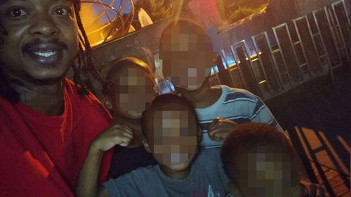 Jacob Blake poses with his sons, according to his attorney.