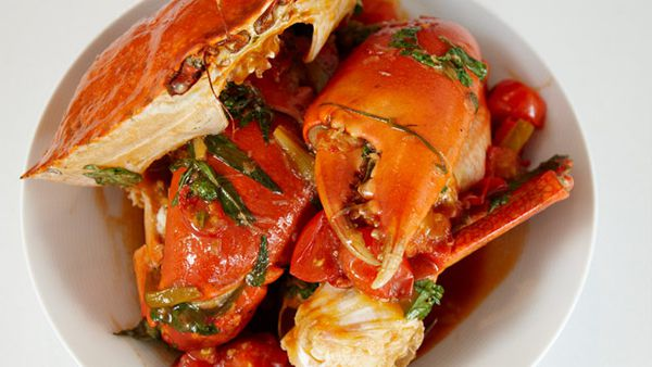 Pete's chilli mud crab