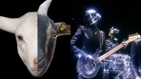 Watch: Daft Punk's 'Get Lucky' remixed with screaming goats