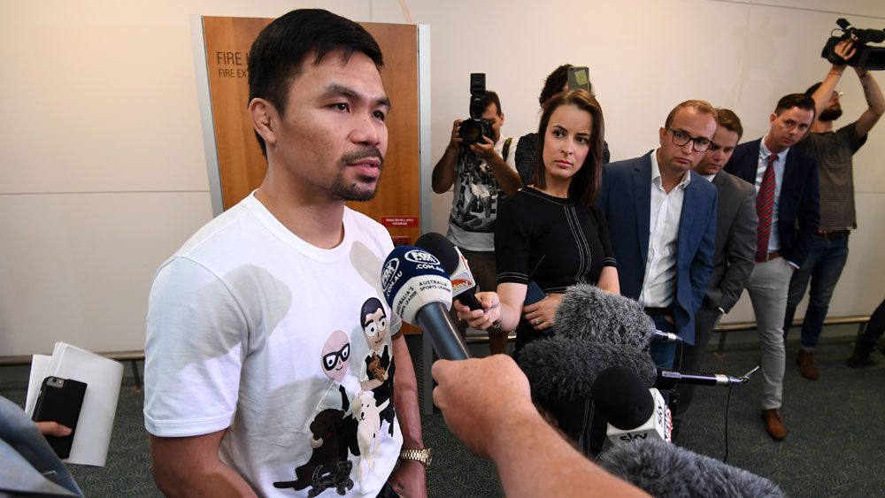 Manny Pacquiao says he still has plenty of fight in him ahead of Jeff Horn bout