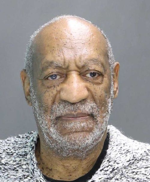 Bill Cosby's mugshot. (Supplied)