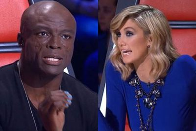"Various reports claimed that Seal was having outbursts on the set of <i>The Voice</i>. Delta and Seal had a heated argument over a contestant during an ad break, with producers stepping in to smooth it over.<br/><br/>On another occasion, Delta told Seal his contestant Jac Stone ""pulled faces"" and was ""over-emotive"". ""You do that,"" Seal hit back, but this was cut from the final show, according to <i>The Daily Telegraph</i>."