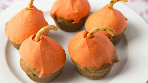 Mini Pumpkin Cupcakes