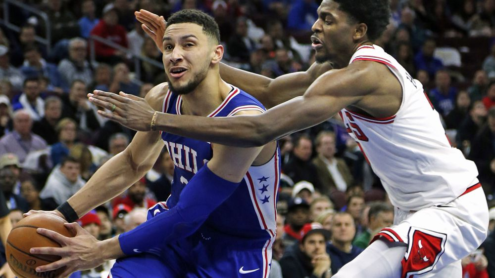 NBA: Philadelphia 76ers rookie Ben Simmons scores fifth triple-double