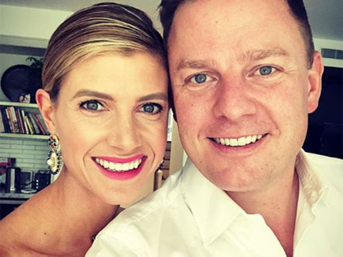 Ben Fordham and wife